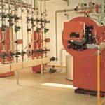 Brennwertkesselanlage und Verteilung 225 KW Viessmann mit Vertomat in HSK e.G. Eisleben